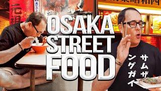 Japanese Street Food Tour - Exploring Osaka & Dotonbori | SAM THE COOKING GUY 4K