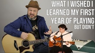 What I Wish I Knew My First Year of Playing Guitar (Barre Chords)