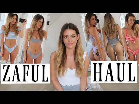 ZAFUL SWIMWEAR HAUL AND TRY ON – BIKINI & SWIMSUIT