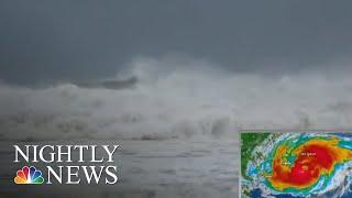 Hurricane Florence Begins To Lash Carolina Coast | NBC Nightly News
