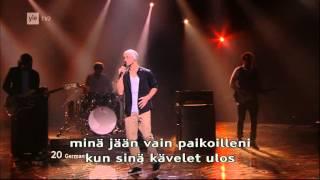 Eurovision 2012 - Final - Germany (Roman Lob - Standing Still) HQ