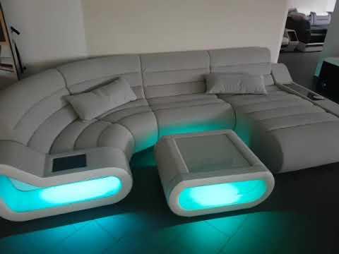 Sofa Dreams Big Sofa Concept mit LED Beleuchtung