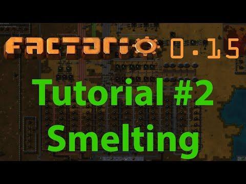 Smelting and Furnace Ratios - Factorio Tutorial - смотреть онлайн на