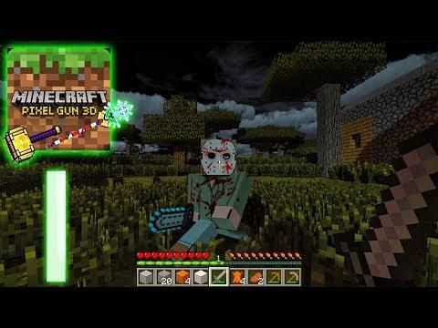 Minecraft Pixel Gun Edition - Gameplay Walkthrough Part 1