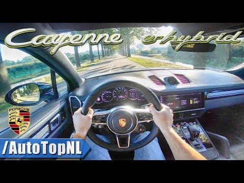 Porsche Cayenne E Hybrid Кроссовер класса J - тест-драйв 2