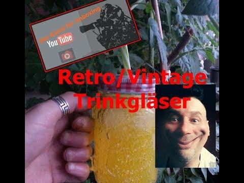 Trinkgläser Vintage/Retro Unboxing