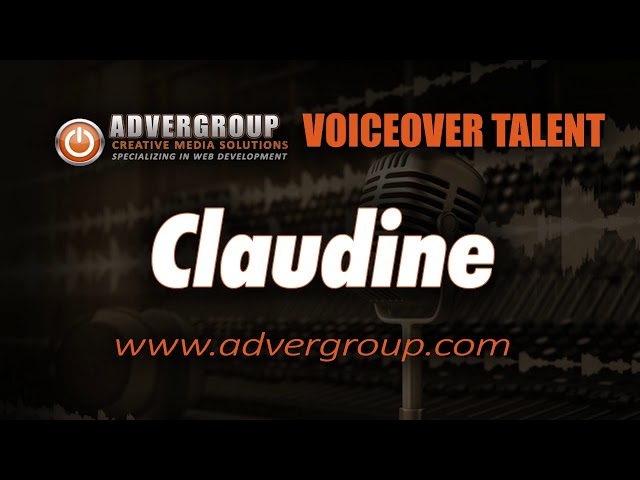 CLAUDINE Female VOIC ..