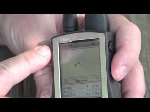SportDOG Brand TEK Series - Using the Tracking and Training Screens