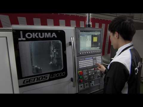 Okuma GENOS L2000 / L3000 Horizontal Lathes