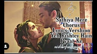 Yeh Rishtey Hain Pyaar ke||MISHBIR||Your songs lyrics