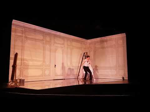 """Alex Lawrence, baritone sings """"Se Vuol Ballare,"""" Mozart, Le Nozze di Figaro, Vancouver Opera Festival, 2017"""