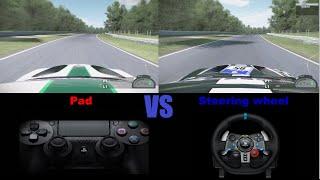 Pad VS Steering Wheel: The (In)famous Battle