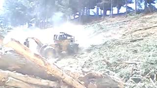 When Brakes Fail On A Skidder