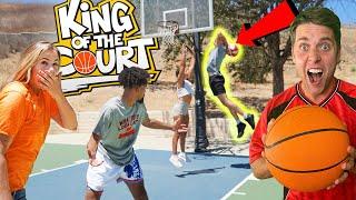 YOUTUBER KING OF THE COURT! (AJ Lapray, Marcelas Howard, DC Heat, Jenna Bandy + more!)