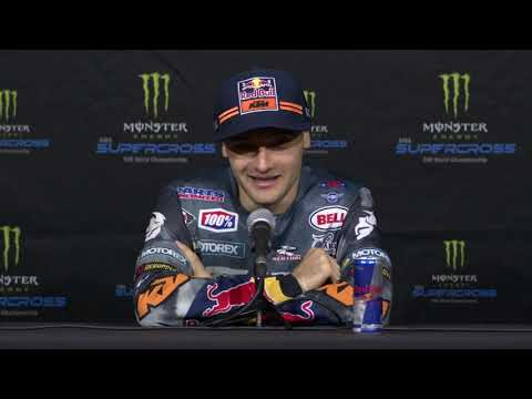 450SX Post Race Press Conference - Second Round in Anaheim - Race Day LIVE 2019