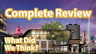 Universal Orlando's New Dining Experience - Big Fire Restaurant   Full and Complete Review