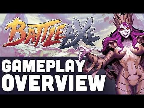 Arcade top-down hack & slash Battle Axe is out now
