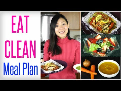 Video My EAT CLEAN Meal Plan (Full Recipes)