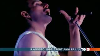 2016 08 09 TG5 italian tv report about 30th anniversary of Queen last concert in Knebworth on Vimeo