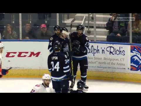 Highlights: Sound Tigers 6 IceCaps 3 (Oct. 12 2014)