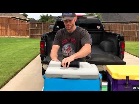 Get more than cold drinks from your cooler.