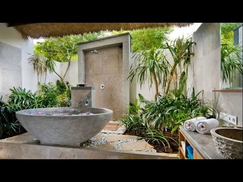 Interior Design | 45 Jungle Bathroom Ideas