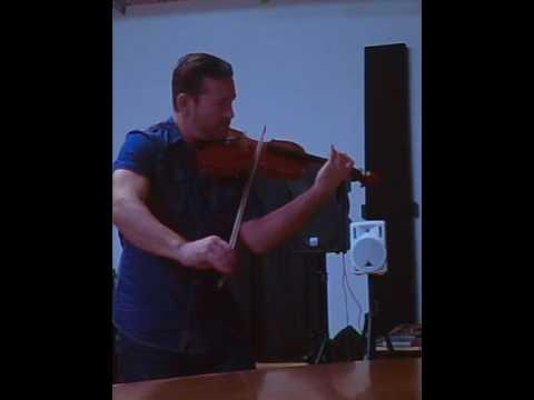 Bach Gminor Presto
