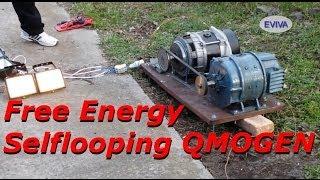 preview picture of video 'Free Energy Motor - Generator QMOGEN 1KWATT EVIVA unit from Kiev Ukraine.'