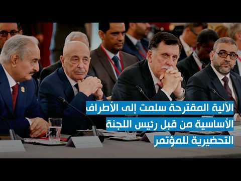 الآلية المقترحة من قبل المؤتمر الليبي الجامع للخروج من الأزمة الليبية الراهنة
