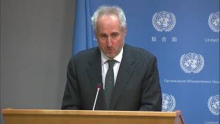20th anniversary of Chemical Weapons Convention & other topics (Daily Briefing 26 April 2017)