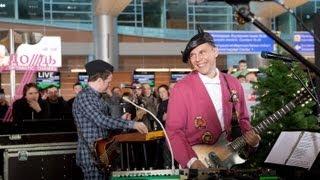 Мумий Тролль для улетающих — концерт в Шереметьево