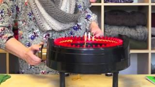 Knitting a Flat Panel on the addi Express Kingsize Knitting Machine