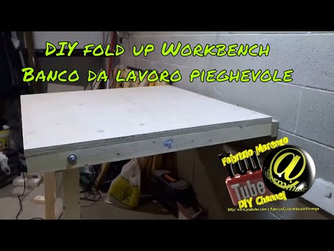 DIY Foldup Workbench