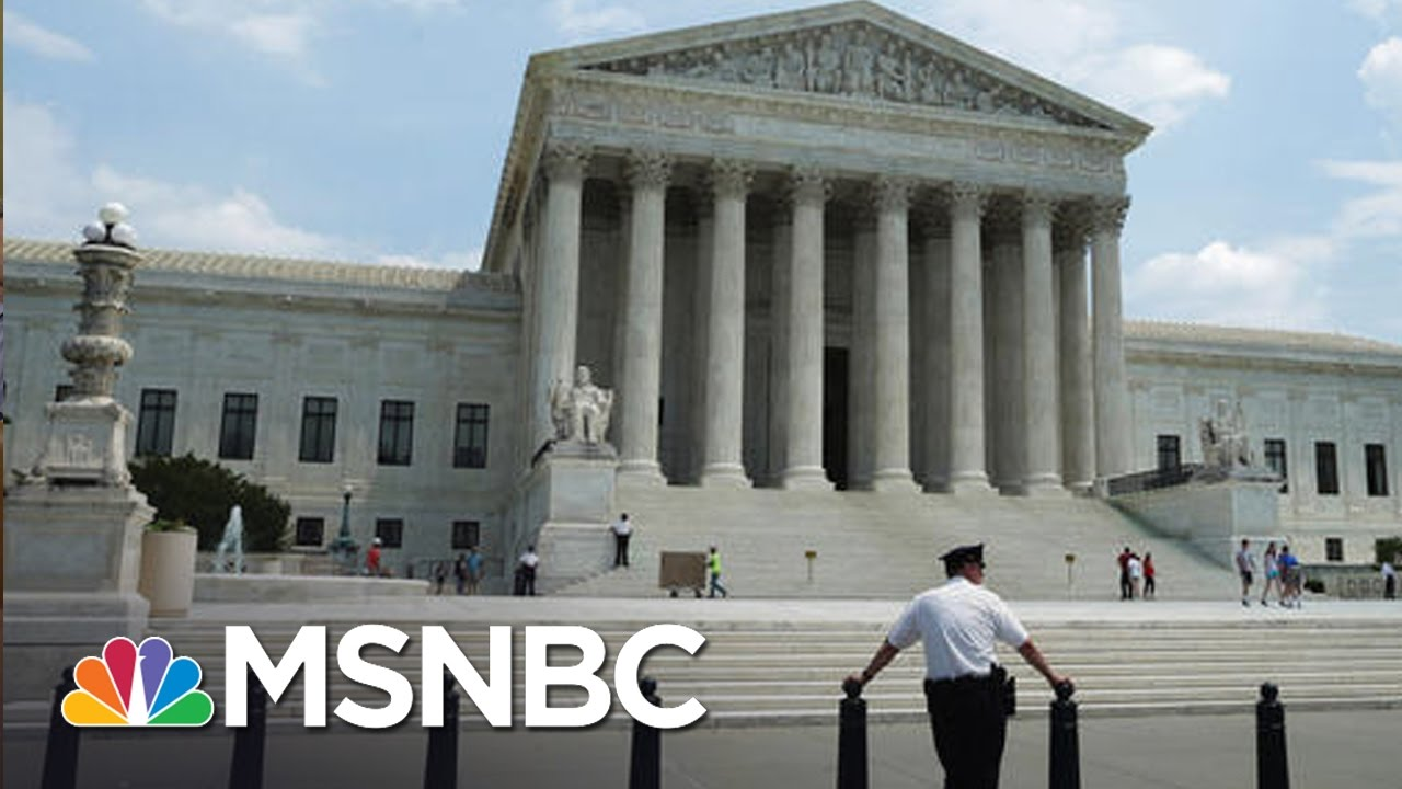 SCOTUS Integrity Damaged By GOP Stolen Seat | Rachel Maddow | MSNBC thumbnail