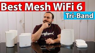 Best Mesh WiFi 6 Systems | eero Pro 6, Netgear Orbi, ASUS ZenWiFi AX XT8 and TP-Link Deco X90