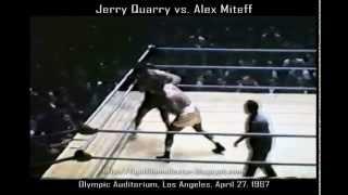 Jerry Quarry vs Alex Miteff 4/27/67 | 16mm transfer & audio restoraton