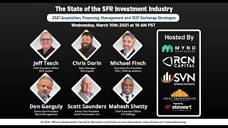The State of the SFR Investment Industry