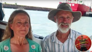 60 year old couple crosses the Pacific Ocean on 25 foot without engine? - Ep 34