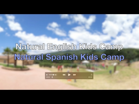 Natural English Kids Camp Video Promo