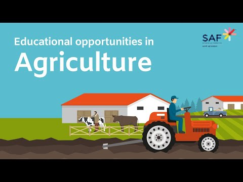 Educational Opportunities in Agriculture - English