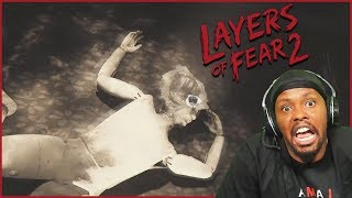 Who Is This Guy?? And Why Is He Yelling At Me!? - Layers Of Fear 2 (Ep.5)