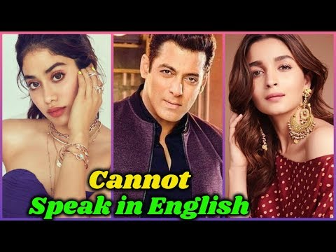 Download Bollywood Stars Who Cannot Speak in English Mp4 HD Video and MP3
