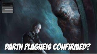 Darth Plagueis Confirmed ? Star Wars Episode 7 The Force Awakens