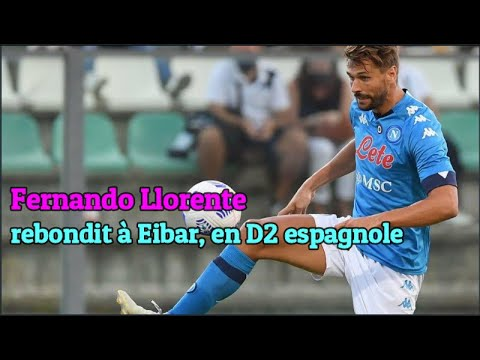 Fernando Llorente rebondit à Eibar, en D2 espagnole