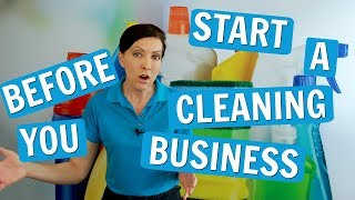 Things You Need to Know Before Starting a House Cleaning Biz