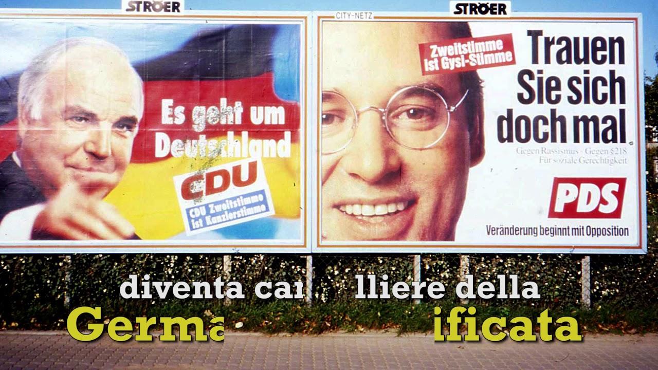 Helmut Kohl, il politico della riconciliazione