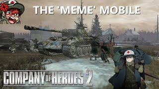 Company of Heroes 2: HelpingHans(OKW) vs TwistedToosty(US) and the Meme Mobile