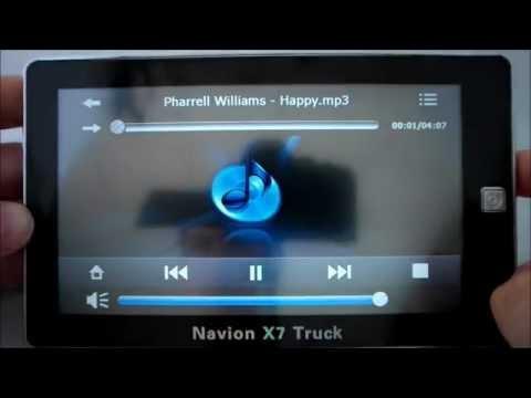Navegador GPS para Camiones Navion X7 Truck