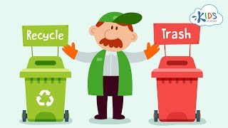 Recycling for Kids | Recycling Plastic, Glass and Paper | Recycle Symbol | Kids Academy