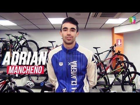 Info-66. Adrián Mancheño, tri 2019. Prueba de esfuerzo en Healthing de Reebok SC. Team Clavería Files 03/2019